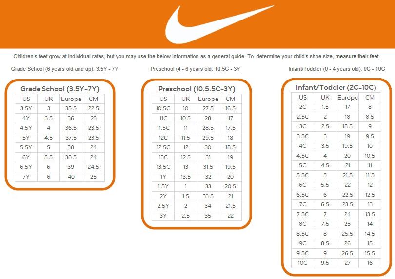 nike sock size chart cheap online