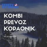 Kombi prevoz putnika do Kopaonika GNoob