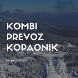 Kombi prevoz putnika do Kopaonika LJddy